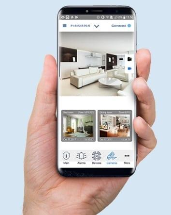 Visonic Mobile App VisonicGO sml