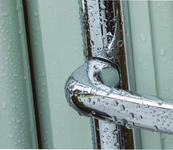 Photo of upvc door mechanism showing we offer upvc door repairs